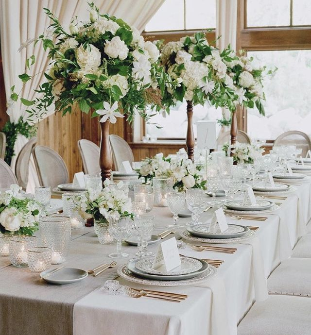 Summer Wedding Centerpiece Ideas: Pin By Flowergirl On Tablescape In 2019