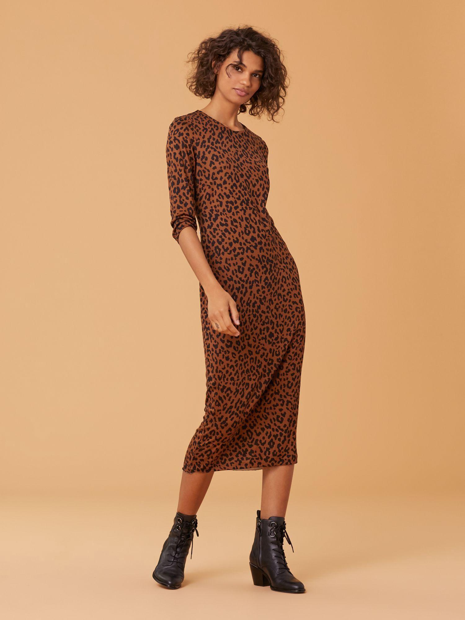 d6df2784deb13 Diane Von Furstenberg Dvf Saihana Dress - Heyford Cocoa Xxs