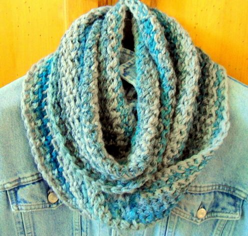 ZANNE Chunky Moebius Eternity Circle Scarf (Crochet) | crochet ...