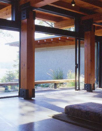 Floating Columns Architecture Timber Architecture Architecture Details