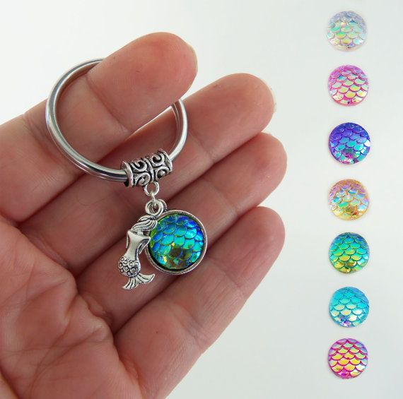 The Little Mermaid Accessories Ariel-Inspired Charm Keychain I Want More Gift