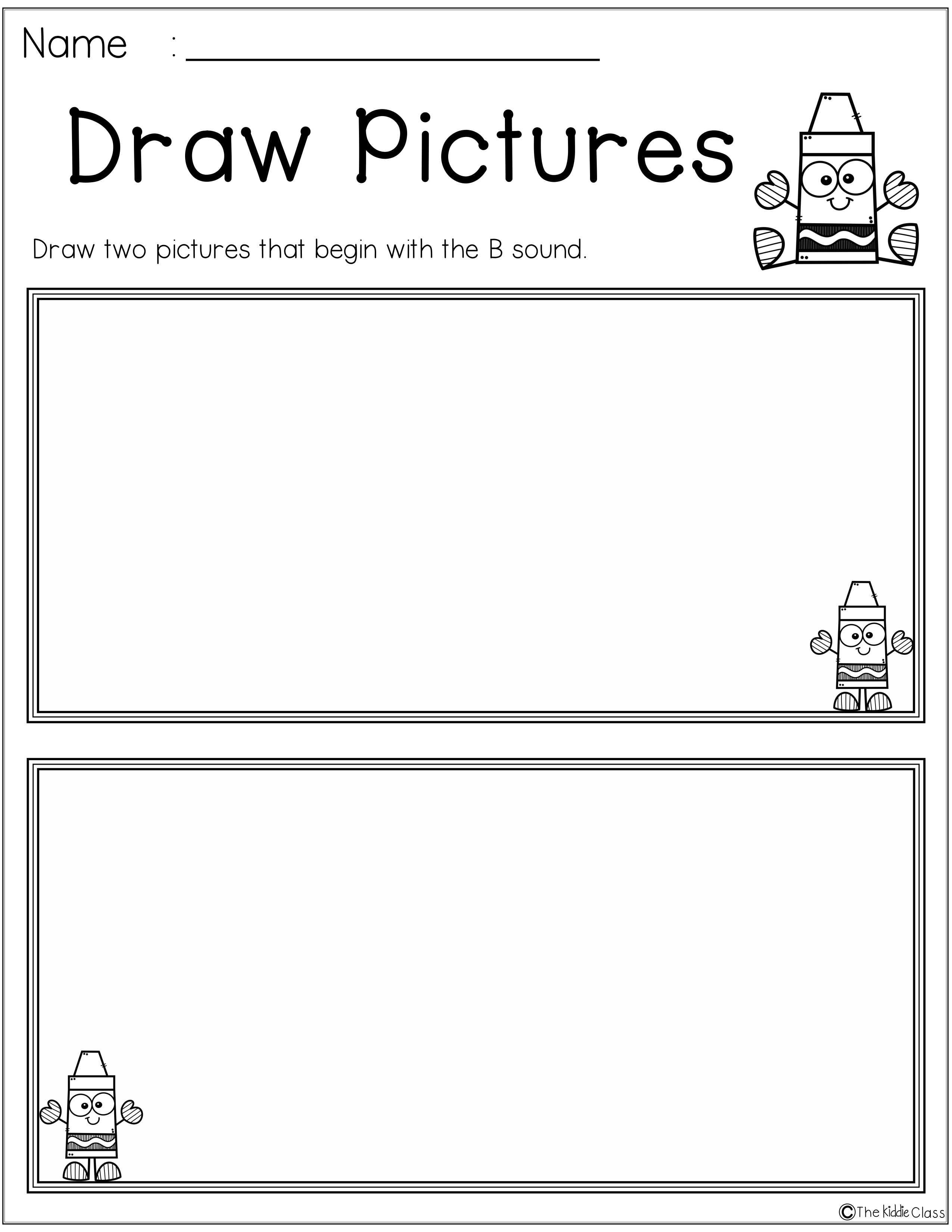 Free Letter Of The Week B Is Perfect For Beginning Of The Year In Preschool Or Kinder Letter Recognition Worksheets Writing Cvc Words Alphabet Writing Practice [ 3300 x 2551 Pixel ]
