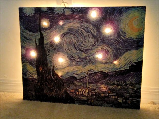 Light Up Canvas | Lights | Pinterest | Canvases, Lights ...