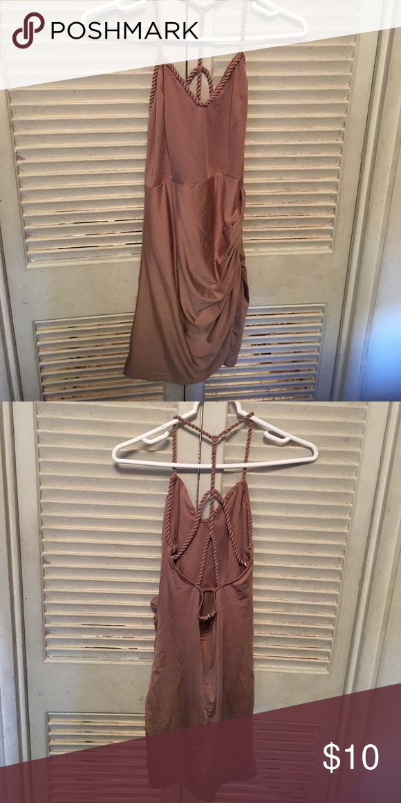 Dress Mini tan dress Fashion Nova Dresses Mini
