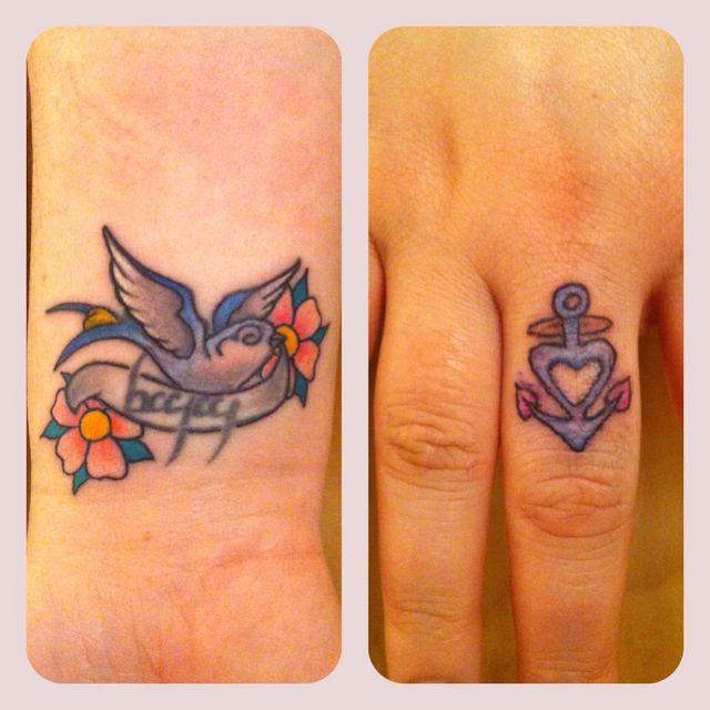 My new tattoos :)