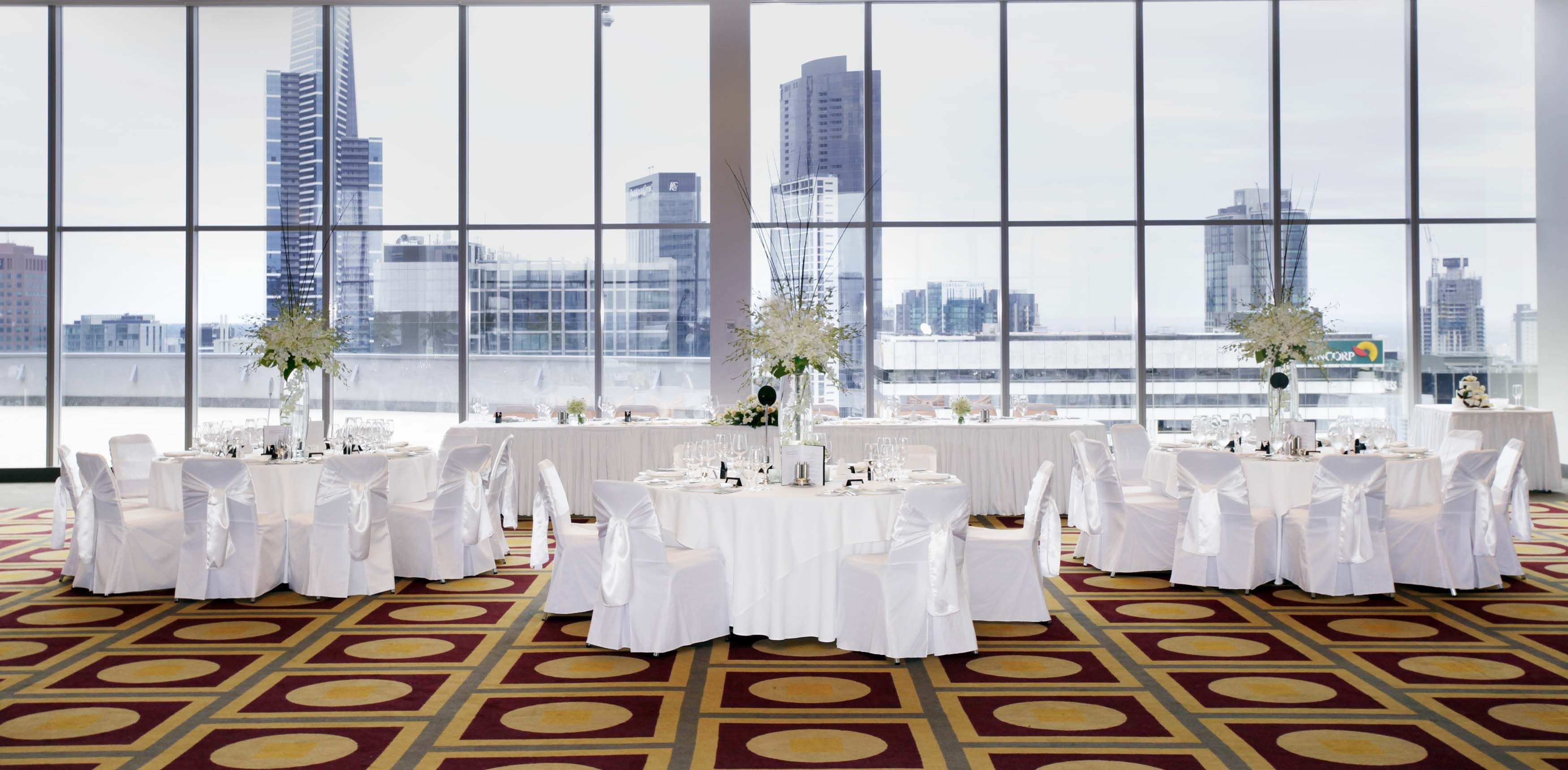RACV City Club Level 17 Wedding