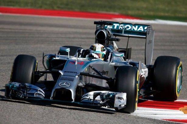 F1 GP des EtatsUnis Hamilton s'impose, nouveau doublé