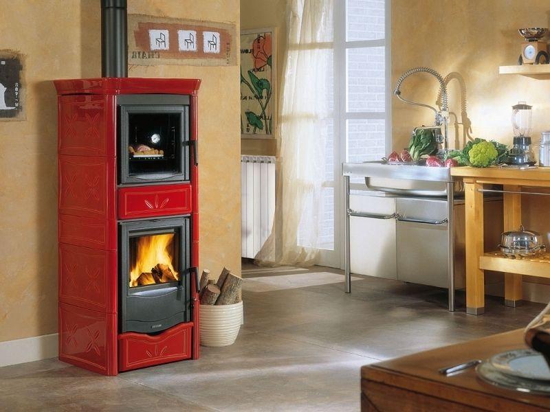 poêle à bois nordica termo nicoletta forno dsa, faite acquisition ...