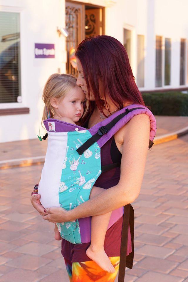 back for baby wearing wrap conversion Linen melange ergonomic carrier for Toddler side preschool carrier three positions: front