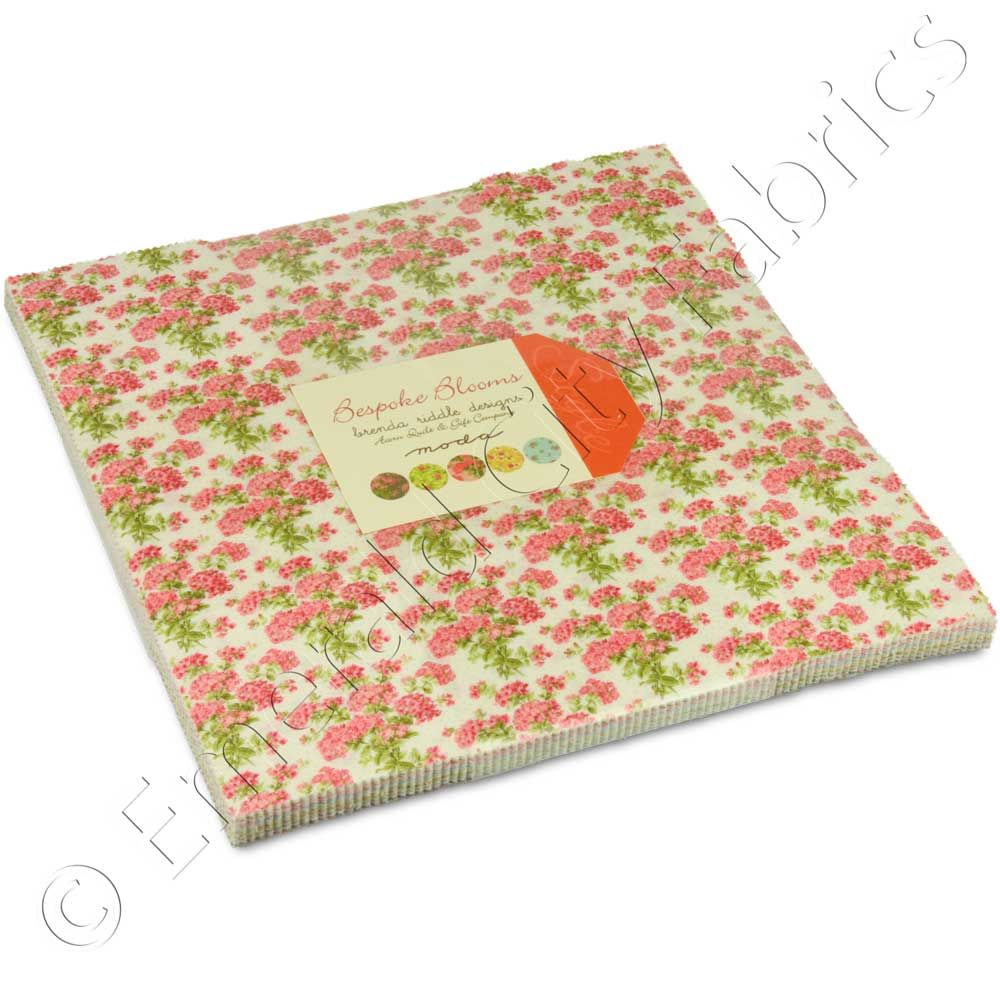 Bespoke Blooms Layer Cake by Brenda Riddle Designs for @modafabrics