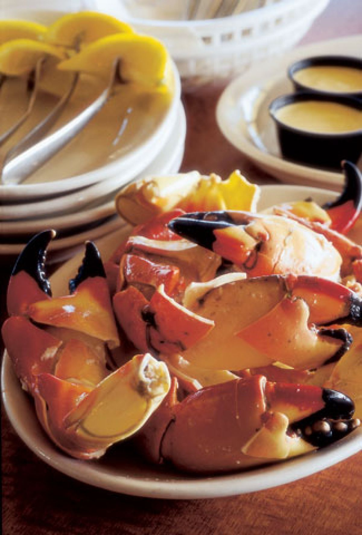 how to steam stone crab claws