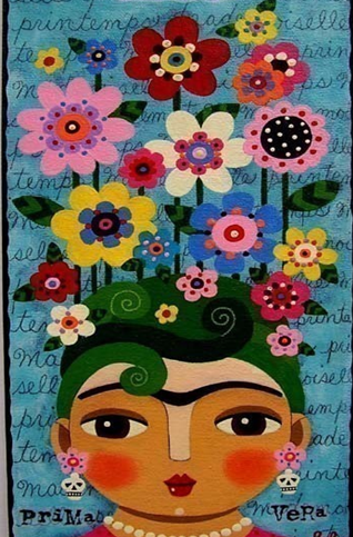 The Flower Frida Kahlo