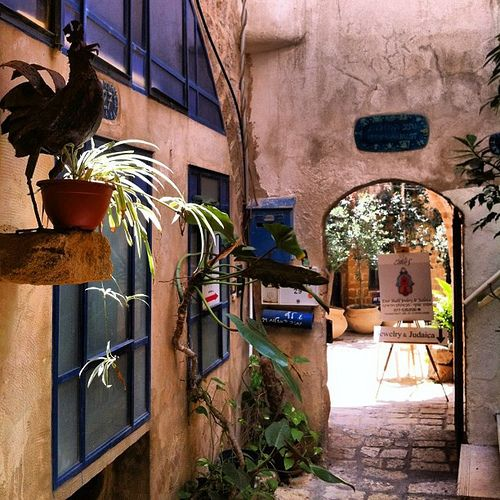 Charming alley in Old Jaffa