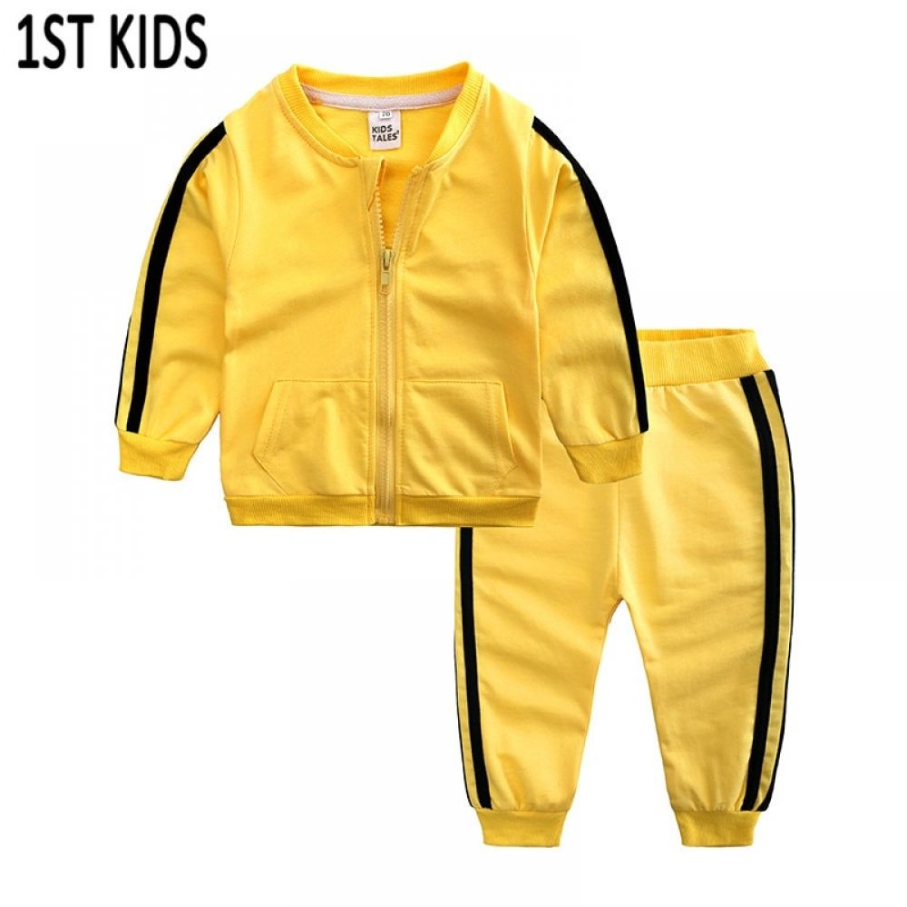 New!2PCS Baby Boys//Girls Outerwear Hoodies Coat Pants Set Kids Clothes Outfits