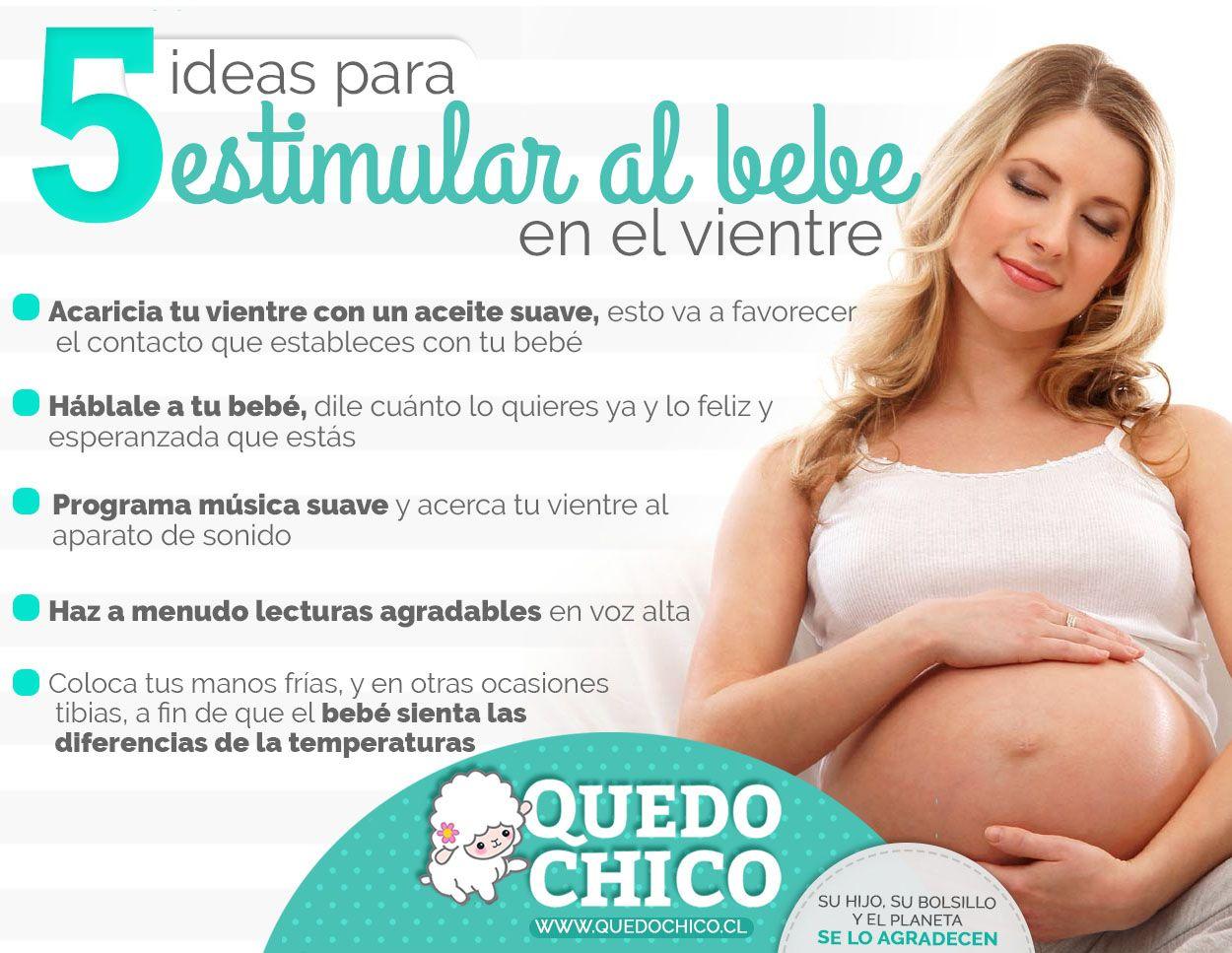 En Quedochico Te Brindamos Los Consejos Para Estimular A Tu Bebé En El Vientre Embarazo Divertido Embarazo Saludable Consejos Para El Embarazo