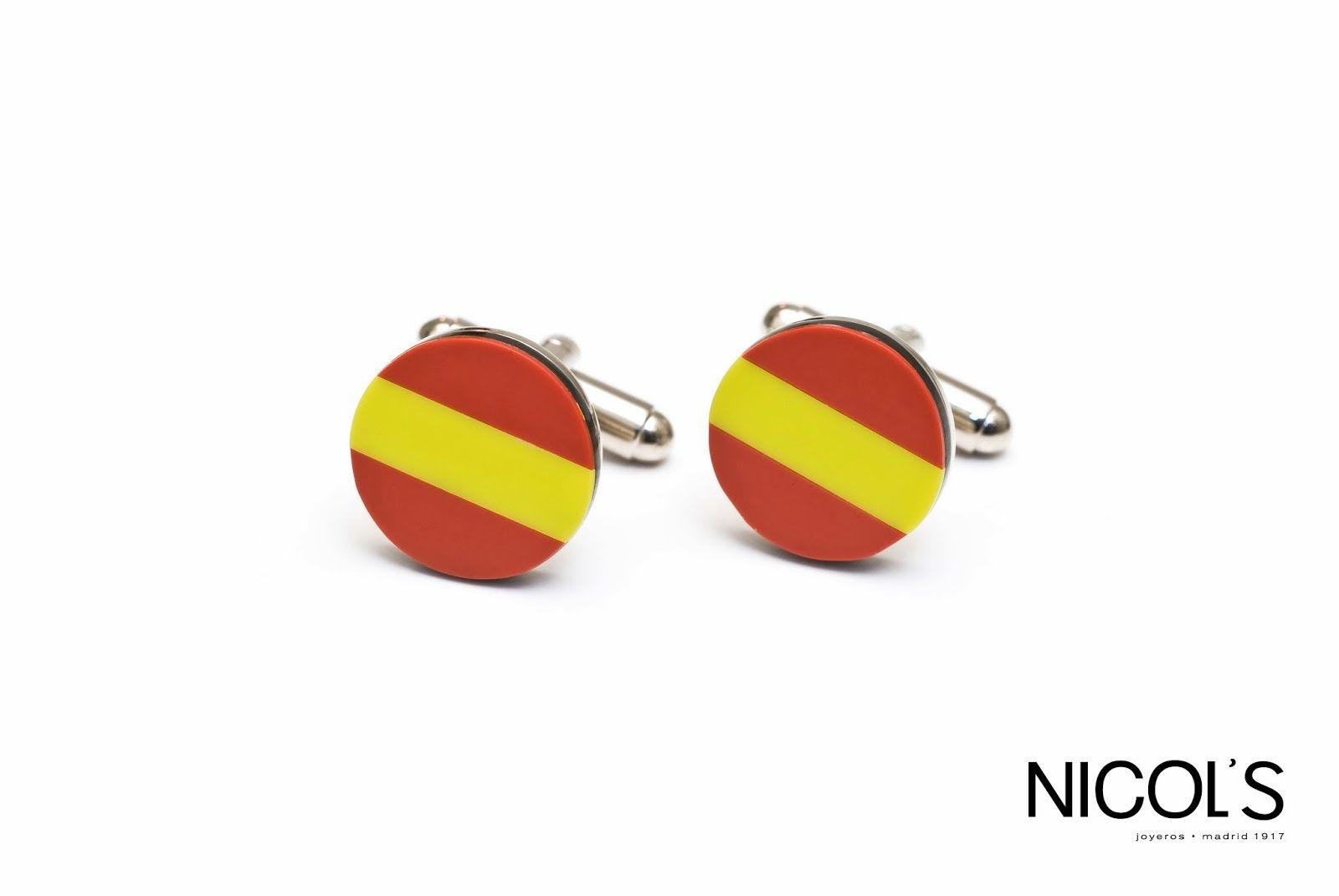 Premio Tag HEUER al mejor embajador en España! Gemelos Bandera de España. Nicol's www.nicols.es