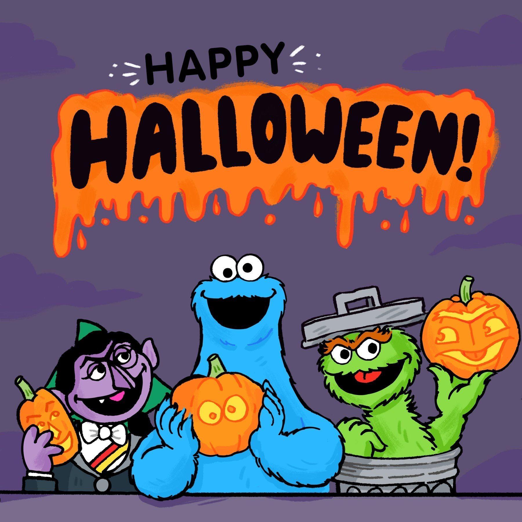 Sesame Halloween Sesame street, Muppets, Halloween