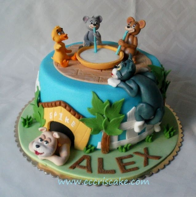 Pin by Mateut Diana on Tom and Jerry cake Pinterest Cake