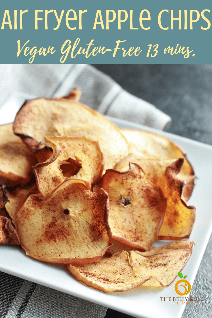 Air Fryer Apple Chips Recipe Air fryer oven recipes