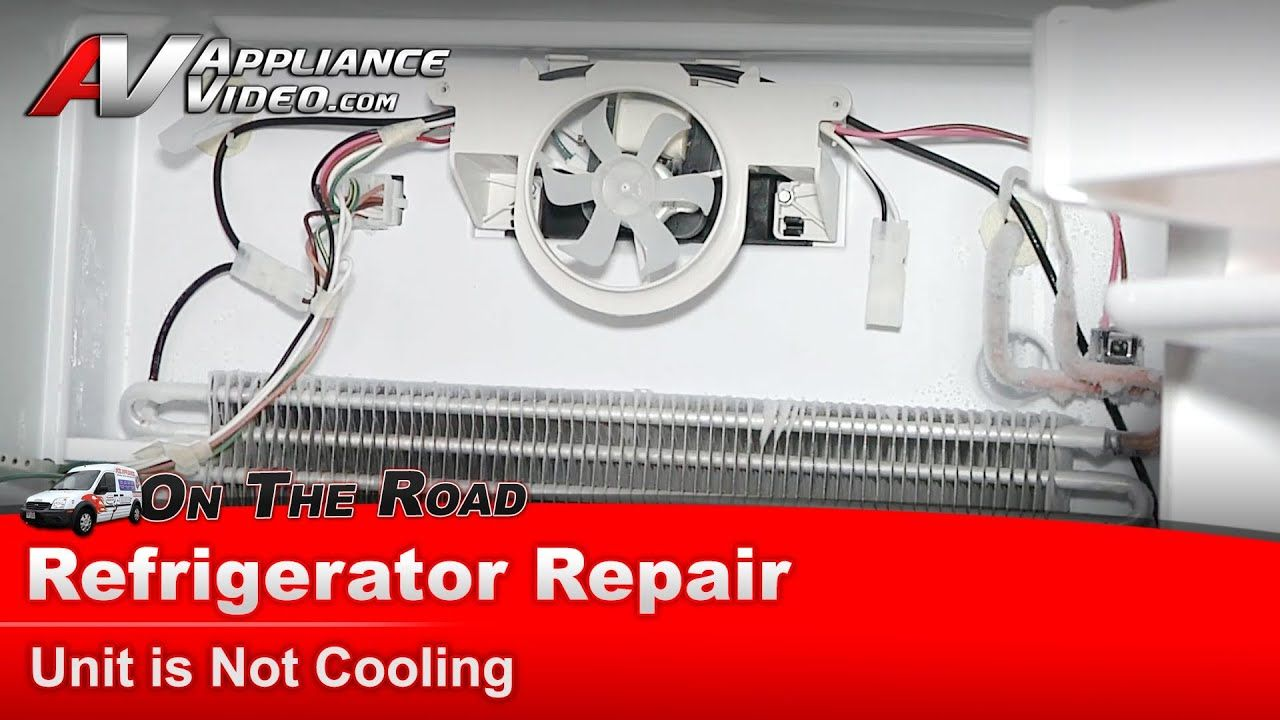 Refrigerator Repair Diagnostic Not Cooling Amana Made By