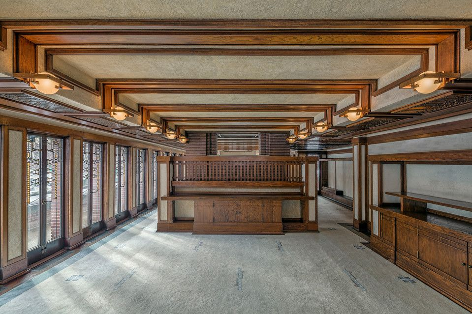 Frank Lloyd Wright S Robie House Where Family Life Met