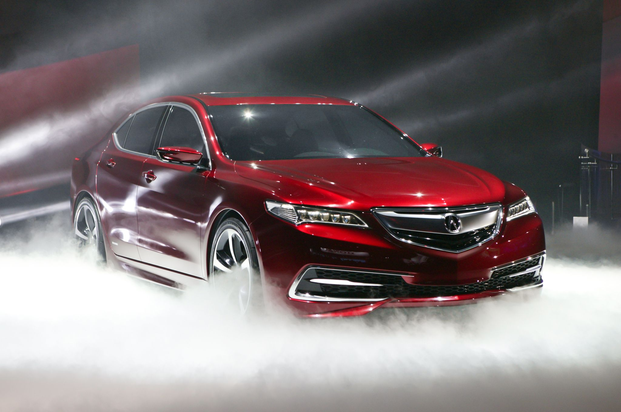 2015 acura tlx prototype revealed at the 2014 north american international auto show