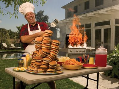 Monte's Mayhem: Man-Law #10: Be The BBQ Grill Master #funny #humor