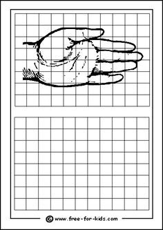 Image result for how to enlarge a drawing using a grid