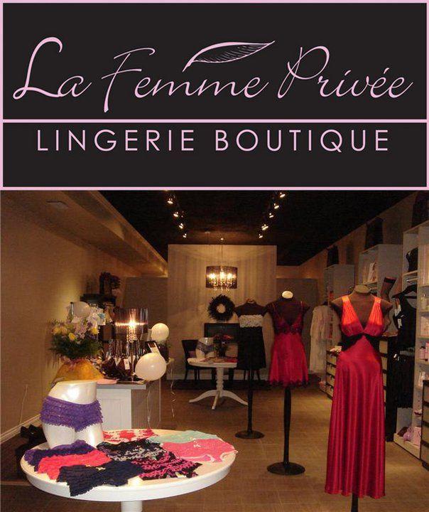 Pick up SmartPanties at La Femme Privee Lingerie Boutique in