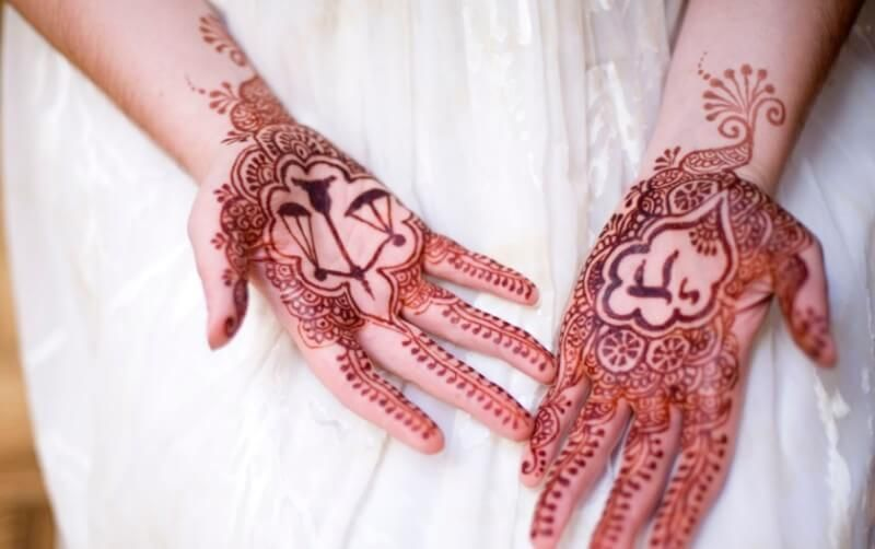 Henna Telapak Tangan Tato Henna Henna Desain Henna