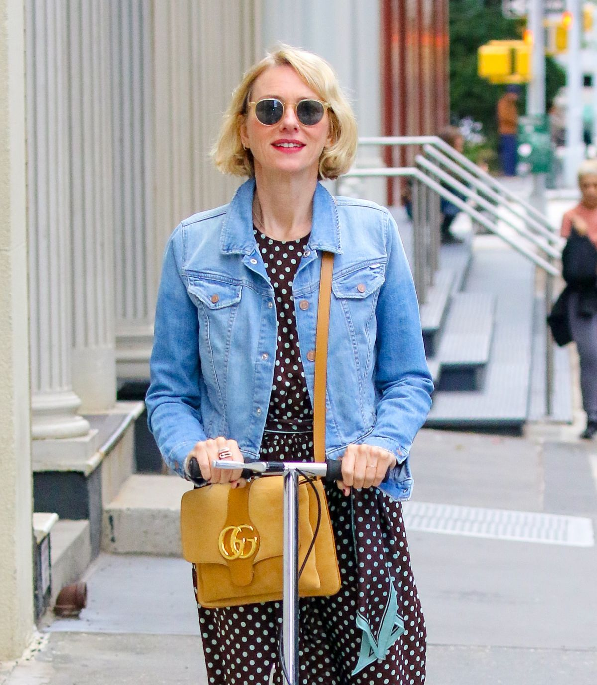 #naomiwatts NAOMI WATTS Out in New York 10/04/2019