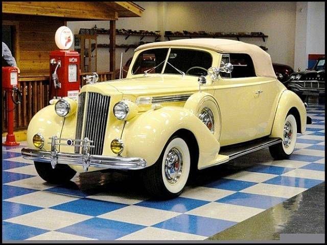 1939 Packard 120 Super Eight Convertible