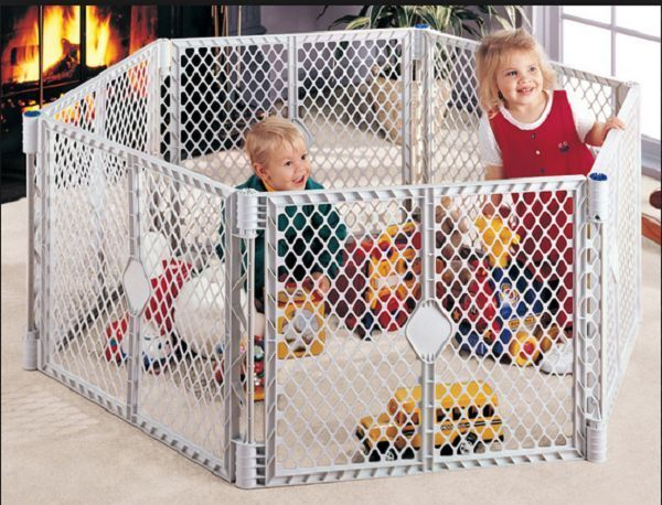 New Baby Play Yard Portable Safety Playpen Baby Fence
