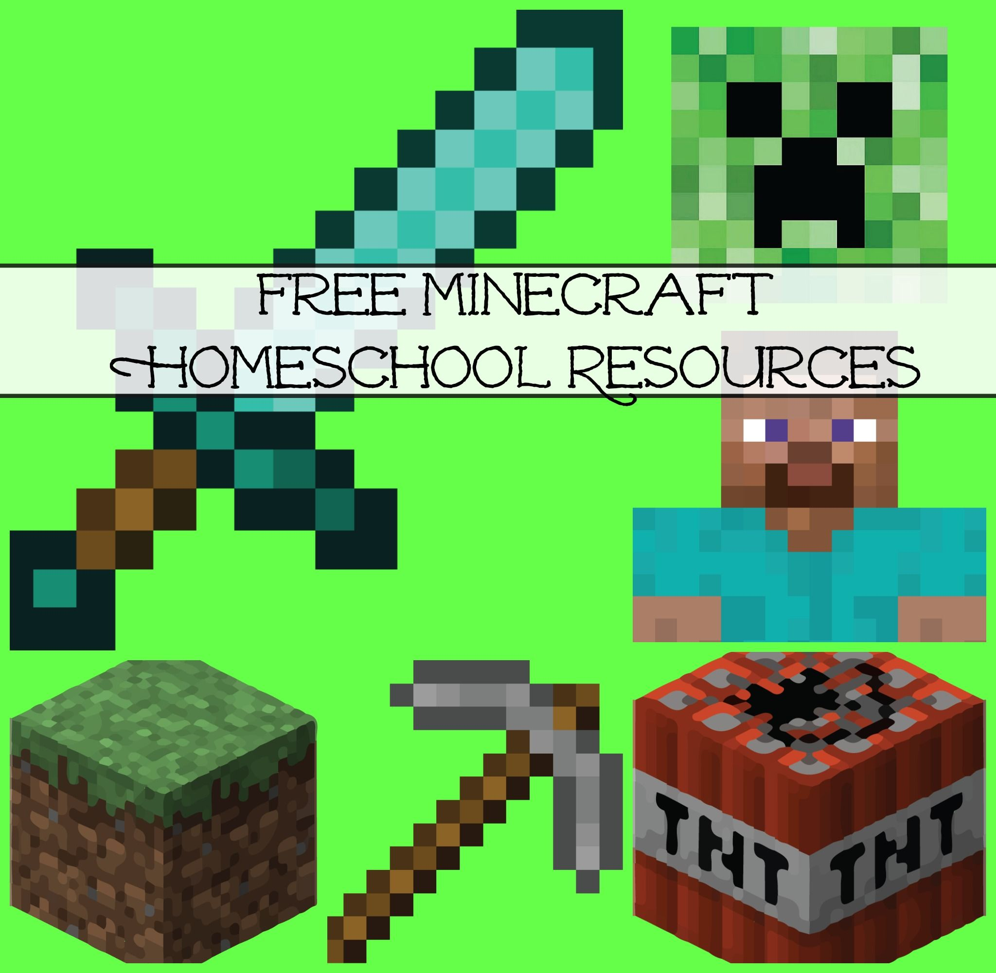 Nifty image pertaining to free minecraft printable cutouts