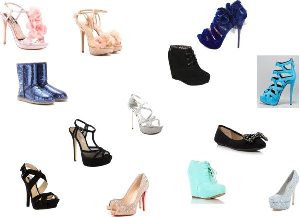"""cute shoes"" by liliadances on Polyvore"