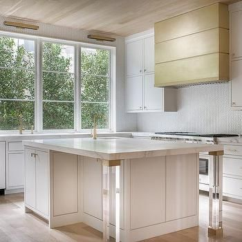 Lucite Leg Kitchen Island   Design Photos, Ideas And Inspiration. Amazing  Gallery Of Interior Design And Decorating Ideas Of Lucite Leg Kitchen Island  In ...