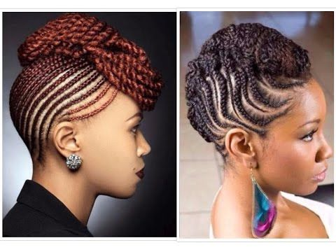 35 Lovely Braided Updo With Kanekalon Hair Youtube Cornrow Hairstyles Braided Hairstyles Updo Hair Styles