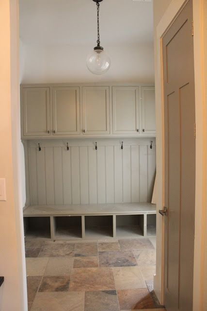 Coat hooks, shoe storage and extra closets on top.. | Boot room
