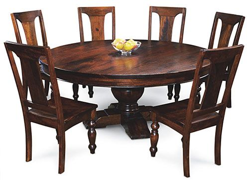 Tuscan Dining Room Tables Large Round Dining Table For Old World