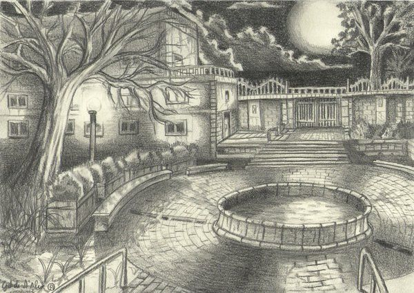 10 Beautiful House Pencil Drawings for Inspiration House
