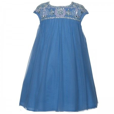 Angelina Cerulean vestido de festa - vestidos de festa - Jovem senhora