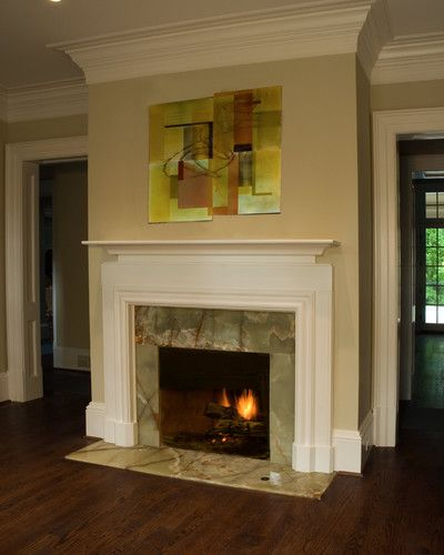 Green Onyx Fireplace Hearth And Face