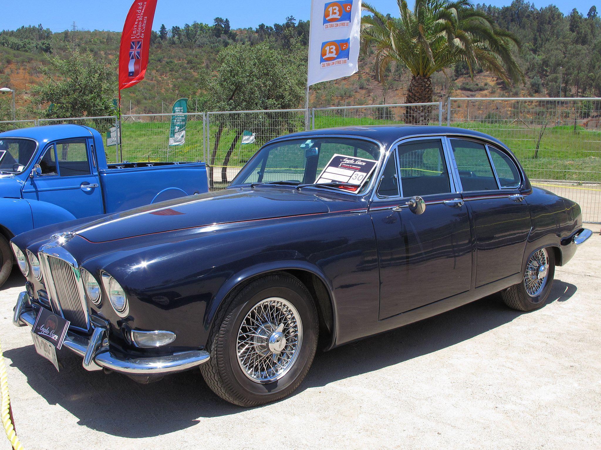 Jaguar 420 1966-1968: The Last Compact Saloon For Next 30 ...