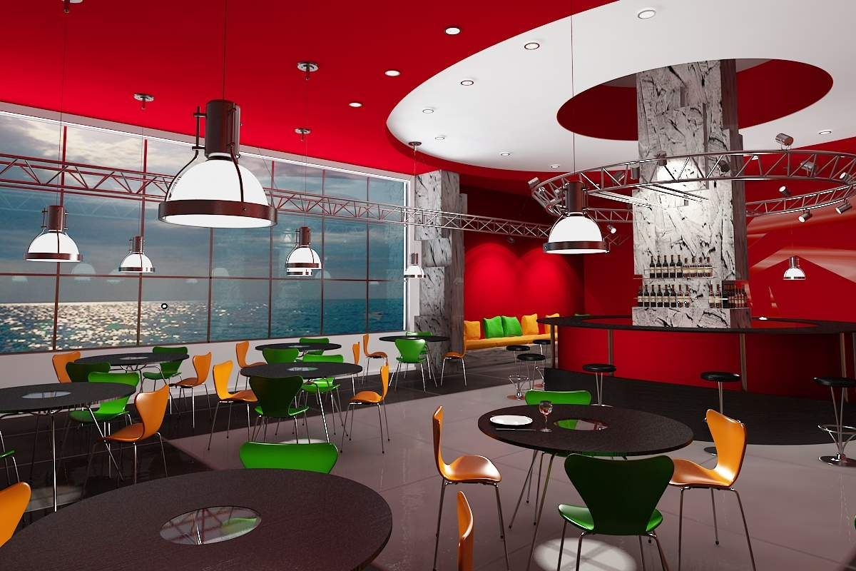 The right choice for cafe interior design ideas with
