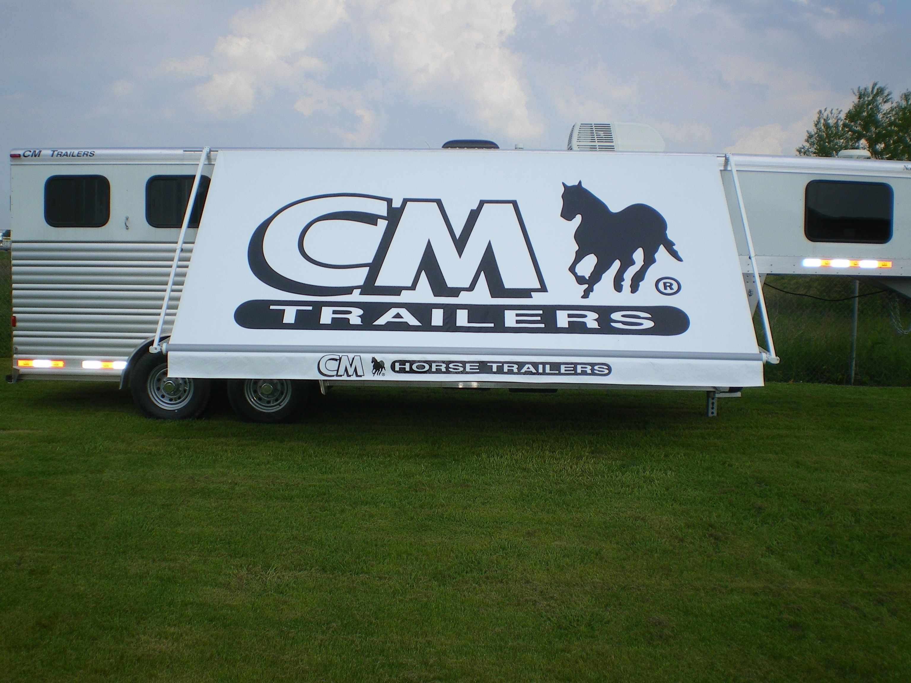 Fun In The Shade Horse Trailers Custom Awnings Recreational Vehicles