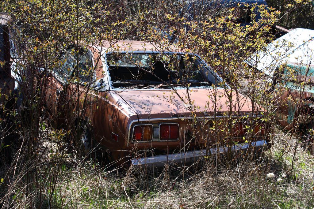 Toyota Abandoned Cars Toyota Corona Toyota