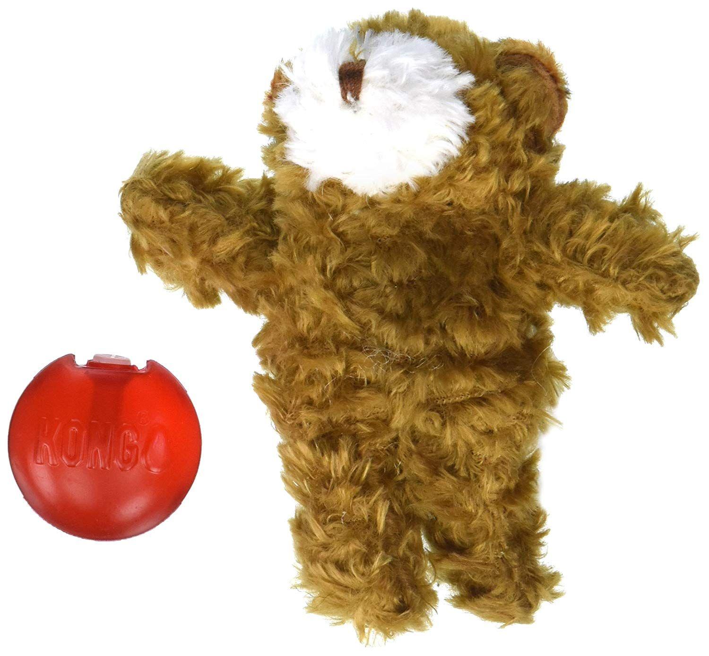 Kong Company Dko02031 Dr Noys Plush Teddy Bear Dog Toy X Small