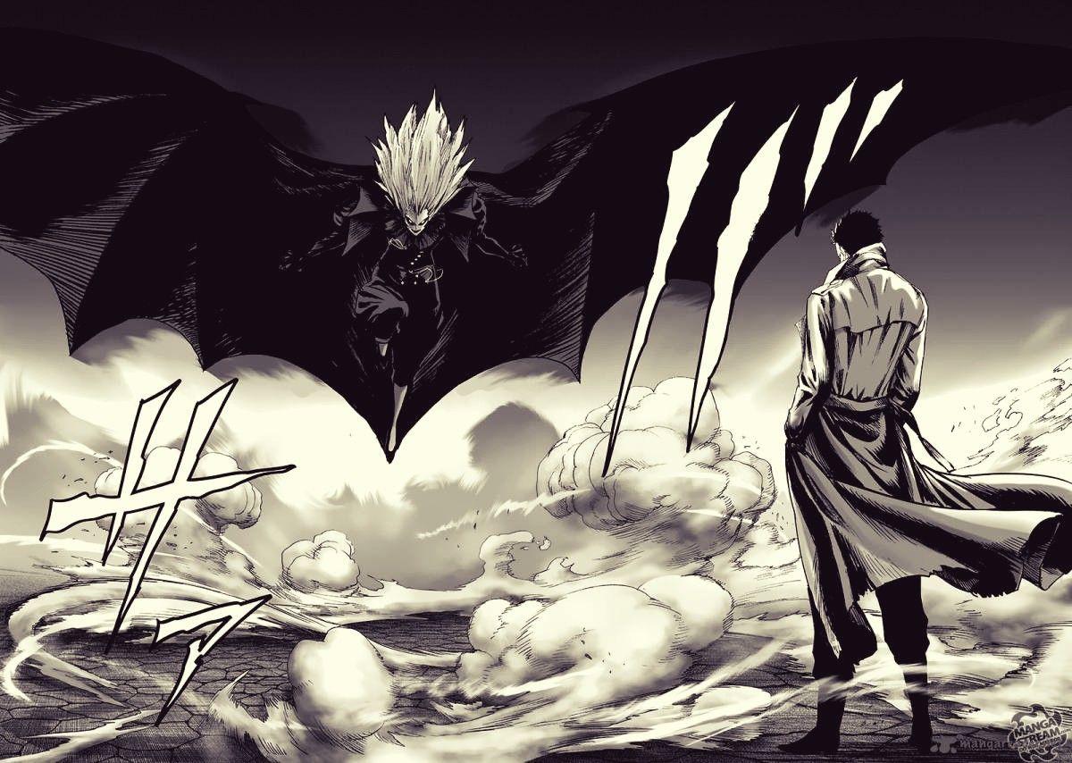 Zombie Man Vs. Lord Vampire One punch man manga, One