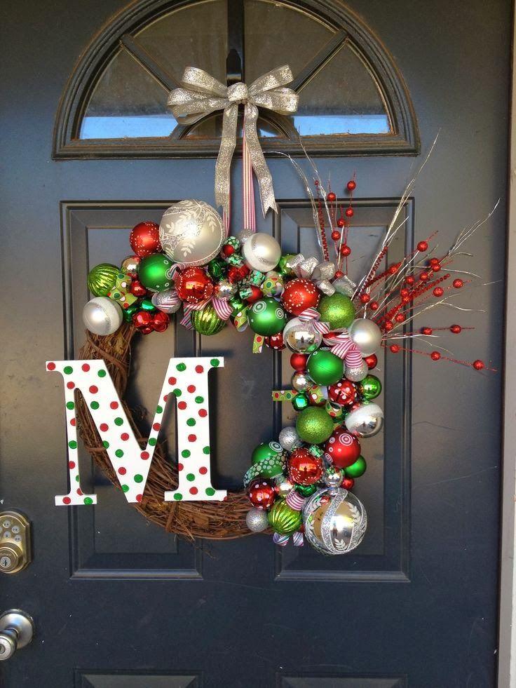 Christmas 2014 Wreaths Ideas Pictures Pinterest Christmas Diy Christmas Door Decorations Christmas Wreaths