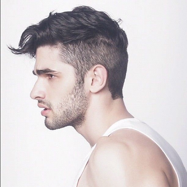 Men S Haircut With Shaved Sides Like Old Days Google Search Mens Hairstyles Thick Hair Styles Mens Hairstyles Short